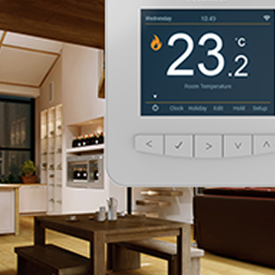 smart heating controls, smart controls