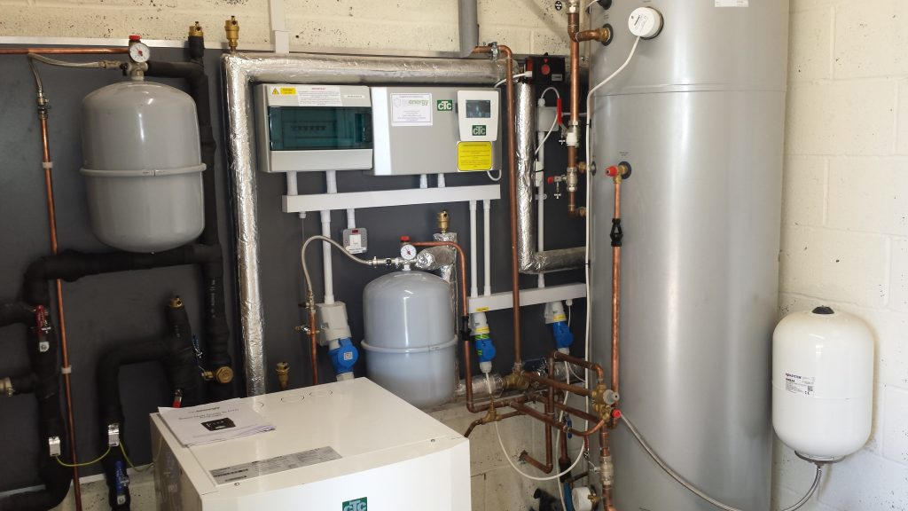 fast connect, ground source heat pump, Ecopart Compact 2